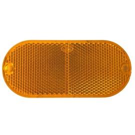 Autoserio Reflector Orange Oval 2pcs AFK0180