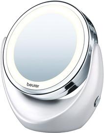 Kosmētiskais spogulis Beurer BS 49 White, ar gaismu, stāvošs, 16.3x19 cm