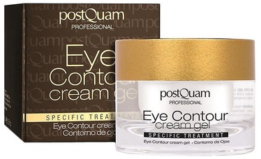 Acu krēms PostQuam Professional Eye Contour Cream Gel, 15 ml