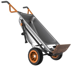 Worx WG050 Wheelbarrow Silver