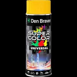 Aerosola krāsa Den Braven Universal, 400ml, pelēka