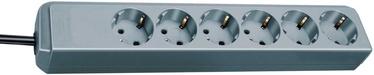 Brennenstuhl Power Cord Eco 6x 1.5m Silver