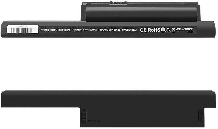 Qoltec Long Life Notebook Battery For Sony VGP-BPS26 4400mAh