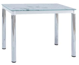 Обеденный стол Signal Meble Damar White, 1000x600x750 мм