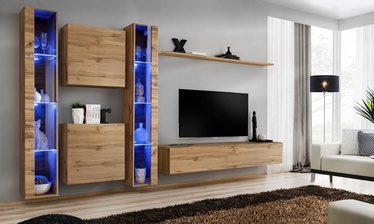 ASM Switch XVI Wall Unit Wotan Oak