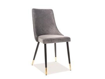 Ēdamistabas krēsls Signal Meble Piano Velvet Grey