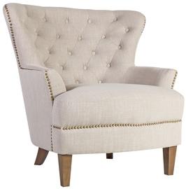Atzveltnes krēsls Home4you Holmes Beige, 79x85x98 cm