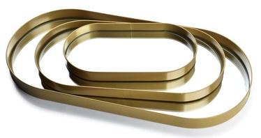 Mondex Lucas Trays Gold 3pcs