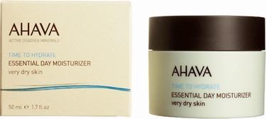 Ahava Time to Hydrate Essential Day Moisturizer Very Dry Skin 50ml