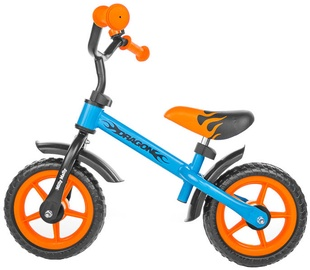 Velosipēds Milly Mally DRAGON Balance Bike Orange/Blue 1445