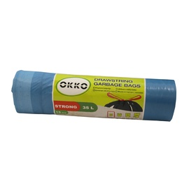 Okko Drawsting Garbage Bags Strong 35l 15pcs