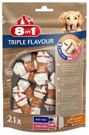 Gardums suņiem 8in1 Triple Flavor XS, 294 kg