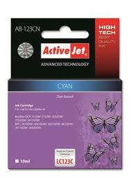 TINTES KASETE ActiveJet Cartridge AB-123CN 10ml Cyan