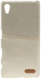 Roar Noble Skin Leather Cover For Samsung Galaxy S4 Gold