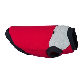 Suņu tērps Amiplay Denver, sarkana/pelēka