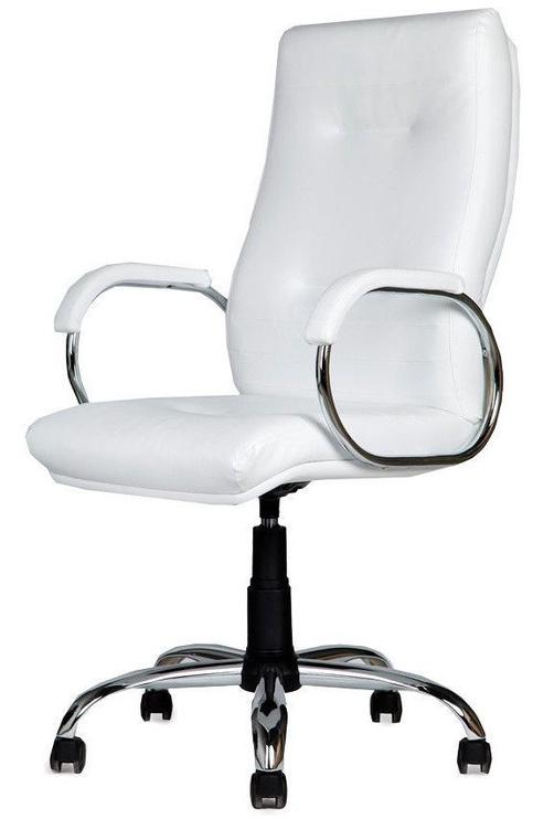 Black Red White Venom Chrom V01 Swivel Chair White