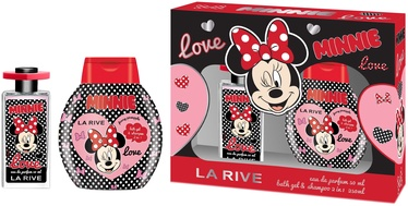 La Rive Disney Minnie 50ml EDP + 250ml Bath Gel & Shampoo 2 in 1