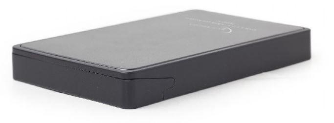 Gembird Enclosure USB 3.1 2.5'' Black