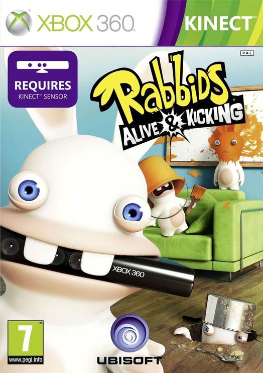 Raving Rabbids Alive & Kicking Kinect