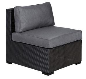 Home4you Sevilla Middle Module Sofa w/ Cushions Black