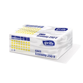 Grite Paper Towel 250 Sheets 25x23cm White