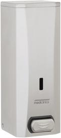 Uz sienas piestiprināmais šķidro ziepju dozators Mediclinics Surface Push Button Liquid Soap Dispenser 1.5l Matt