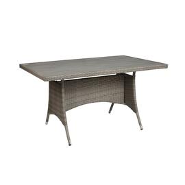 Dārza galds Domoletti Parnu Grey, 85 x 140 x 74 cm