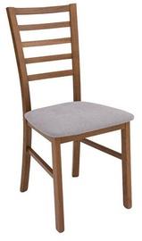 Ēdamistabas krēsls Black Red White Marynarz Poziom/2 Chair Grey, 1 gab.