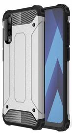 Hurtel Hybrid Armor Back Case For Samsung Galaxy A70 Silver