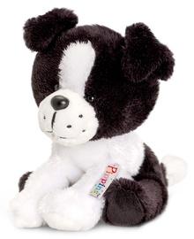 Mīkstā rotaļlieta Keel Toys Pippins Collie SF0320K, balta/melna, 14 cm