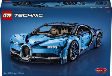 Конструктор LEGO Technic Bugatti Chiron 42083 42083, 3599 шт.
