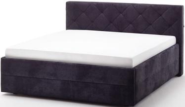 Кровать Meise Möbel Terano Black, 200x180 см