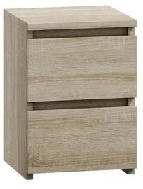 Ночной столик Top E Shop M2 Malwa, дубовый, 40x30x40 см