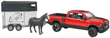 Bruder RAM 2500 Power Wagon With Horse Trailer & Horse 02501