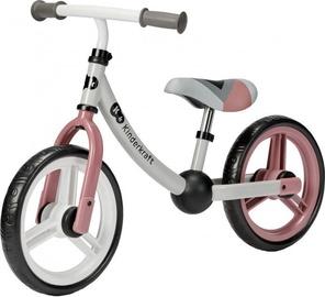 Балансирующий велосипед KinderKraft 2Way Next Rose Pink, розовый, 12″