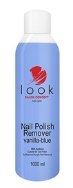 Look Nail Polish Remover with Acetone 1000ml Vanilla-Blue