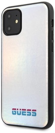 Guess Iridescent Back Case For Apple iPhone 11 Silver