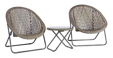 Комплект уличной мебели Home4you Turku Grey