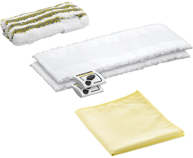 Karcher Microfibre Cloth Set for Bathrooms