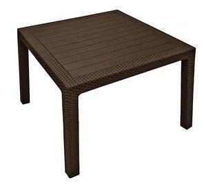 Dārza galds Keter Melody Brown, 95 x 95 x 74 cm