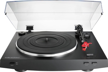 Audio-Technica AT-LP3BK Fully Automatic Belt-Drive Stereo Turntable