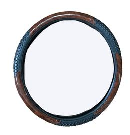 SN Steering Wheel Cover Brown/Black