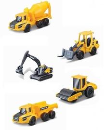 Maisto Die Cast Metal Volvo Construction Vehicle 5pcs