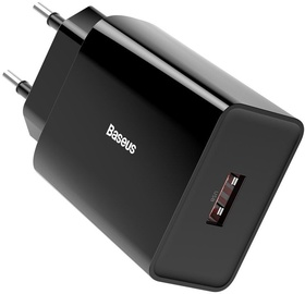 Baseus USB Quick Charge Wall Charger Black
