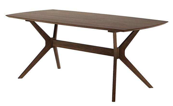 Обеденный стол MN 1021-01-0 Dark Oak, 1850x900x750 мм