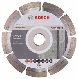 Griešanas asmens Bosch Diamond Concrete Cutting Disc 150x22.23mm