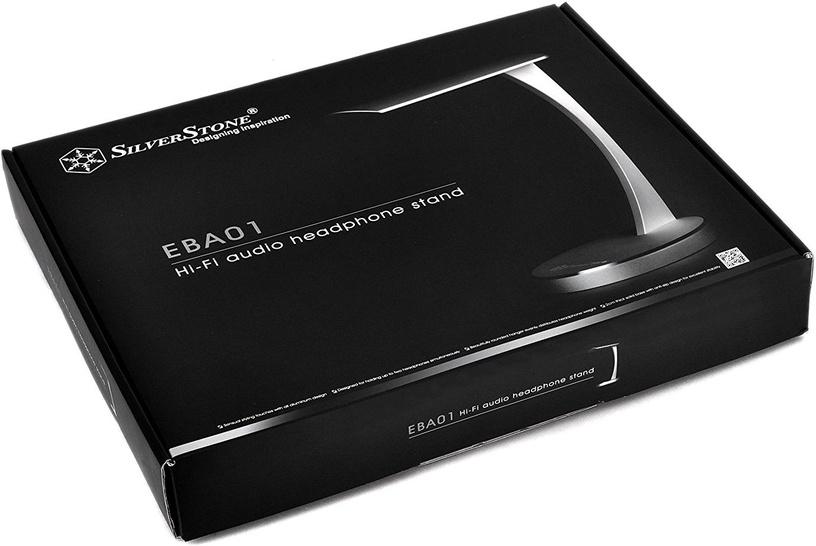 Silverstone SST-EBA01 Headphone Holder Silver