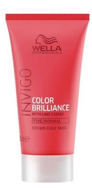 Маска для волос Wella Invigo Color Brilliance Fine, 30 мл