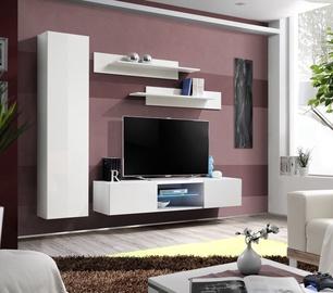 Dzīvojamās istabas mēbeļu komplekts ASM Fly R1 White