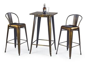 Bāra galds Halmar SB-8 Yellow Cooper, 600x600x1060 mm